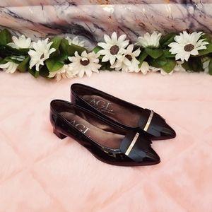 AGL Patent Black Shoes